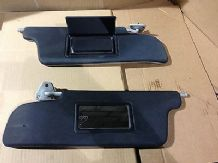 peugeot 205 1.6 / 1.9 gti xs all 205 pair of black sun visors both with mirror